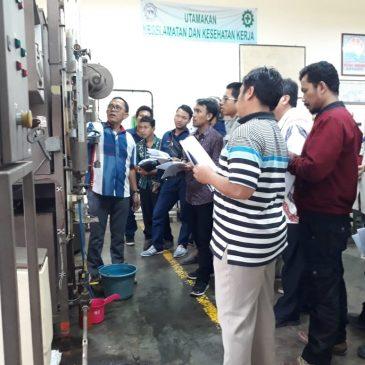 Pelaksanaan Pelatihan K3 Operator Boiler Kelas I & 2 Publik, 03 s.d 08 Desember 2018