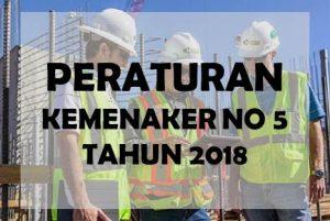 download permenaker no 5 tahun 2018.