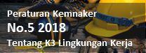 peraturan kemnaker no.5 2018