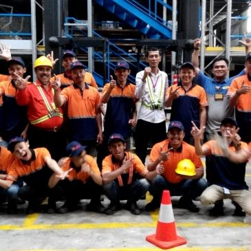 Pelaksanaan Pelatihan K3 Operator Forklift Inhouse PT DHL Supply Chain Indonesia, 08 s.d 10 Februari 2019