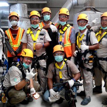 Pelaksanaan Pelatihan Petugas K3 Utama (Confined Space) Inhouse PT Clariant Adsorbents Indonesia, 13 s.d 15 Februari 2019