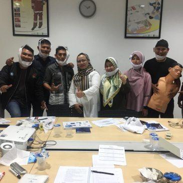 Pelaksanaan Pelatihan Petugas P3K Publik, 06 s.d 08 Februari 2019