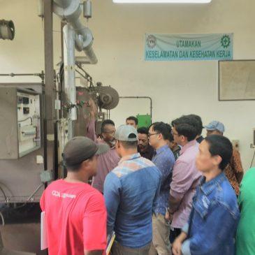 Pelaksanaan Pelatihan K3 Operator Boiler Kelas I & 2 Publik, 11 s.d 16 Februari 2019