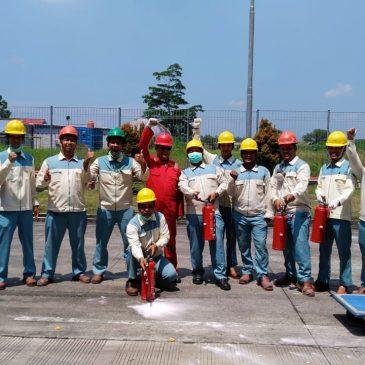 Pelaksanaan Pelatihan Petugas Kebakaran Kelas D (Fire D), Karawang, April 2019