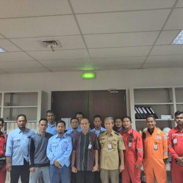 Pelaksanaan Pelatihan Tenaga Kerja Bangunan Tinggi Tingkat 2. Cirebon, April 2019