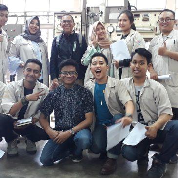 Pelaksanaan Pelatihan K3 Operator Boiler Kelas 2. Bandung, Mei 2019