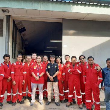 Pelaksanaan Pelatihan K3 Juru Las SMAW & GTAW Publik. Jakarta,15 s.d 20 Juli 2019