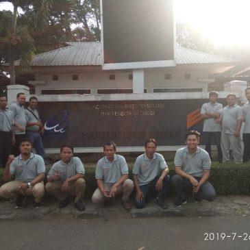 Pelaksanaan Pelatihan Petugas K3 Teknisi Listrik Publik, Jakarta 22-27 Juli 2019.