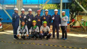 pelatihan k3_sertifikasi_kemnaker RI_tenaga kerja pada ketinggian tingkat1_pt upaya riksa patra_jakarta7
