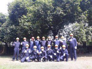 pelatihan petugas kebakaran kelas D (fire D)_pt upaya riksa patra_jakarta